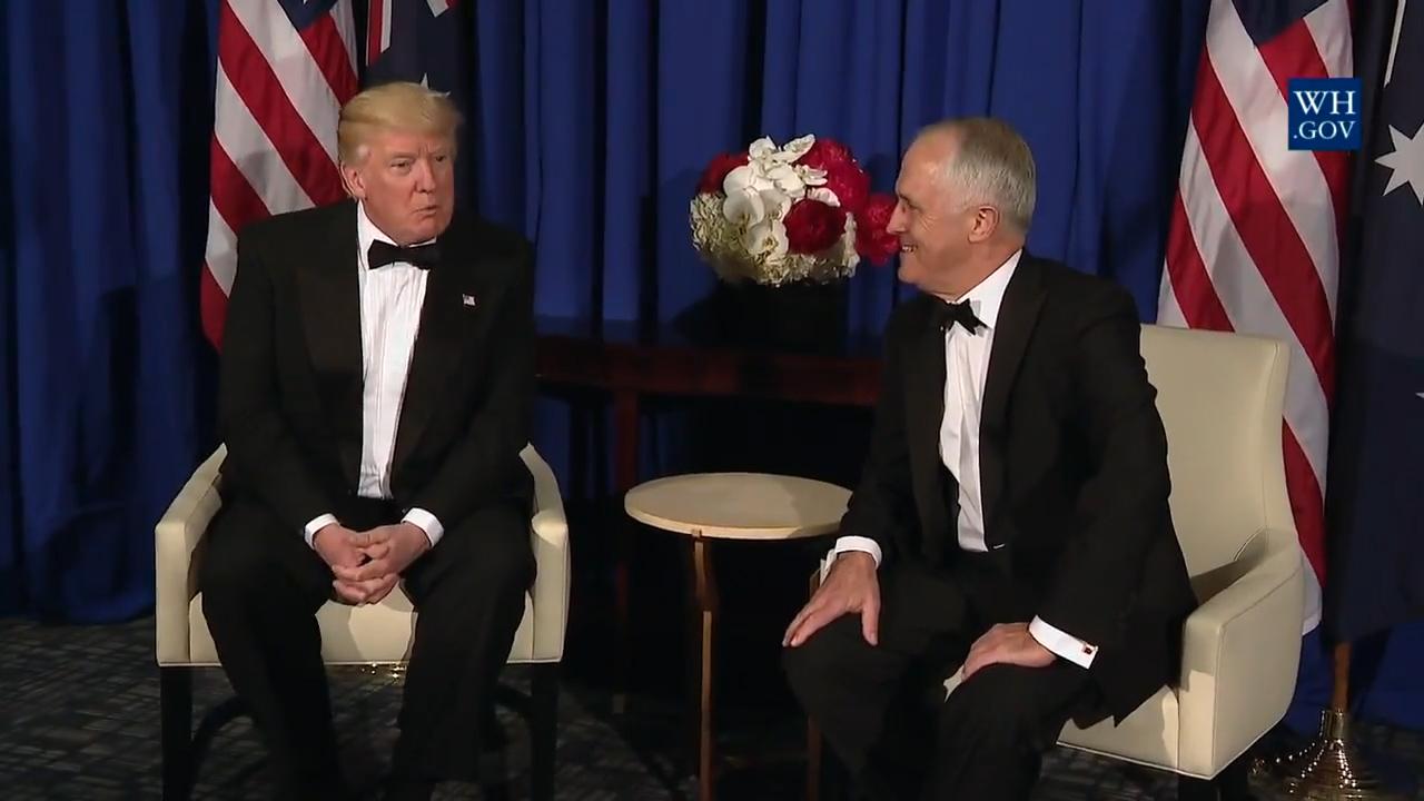donald-trump-calls-negative-phone-call-with-malcom-turnbull-fake-news