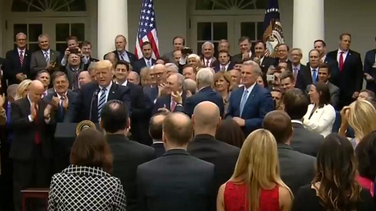 donald-trump-hails-new-healthcare-bill
