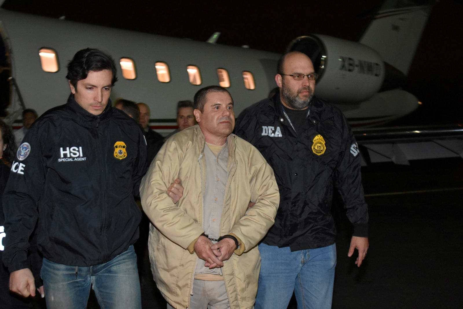 "drug lord Joaquin ""El Chapo"" Guzman"