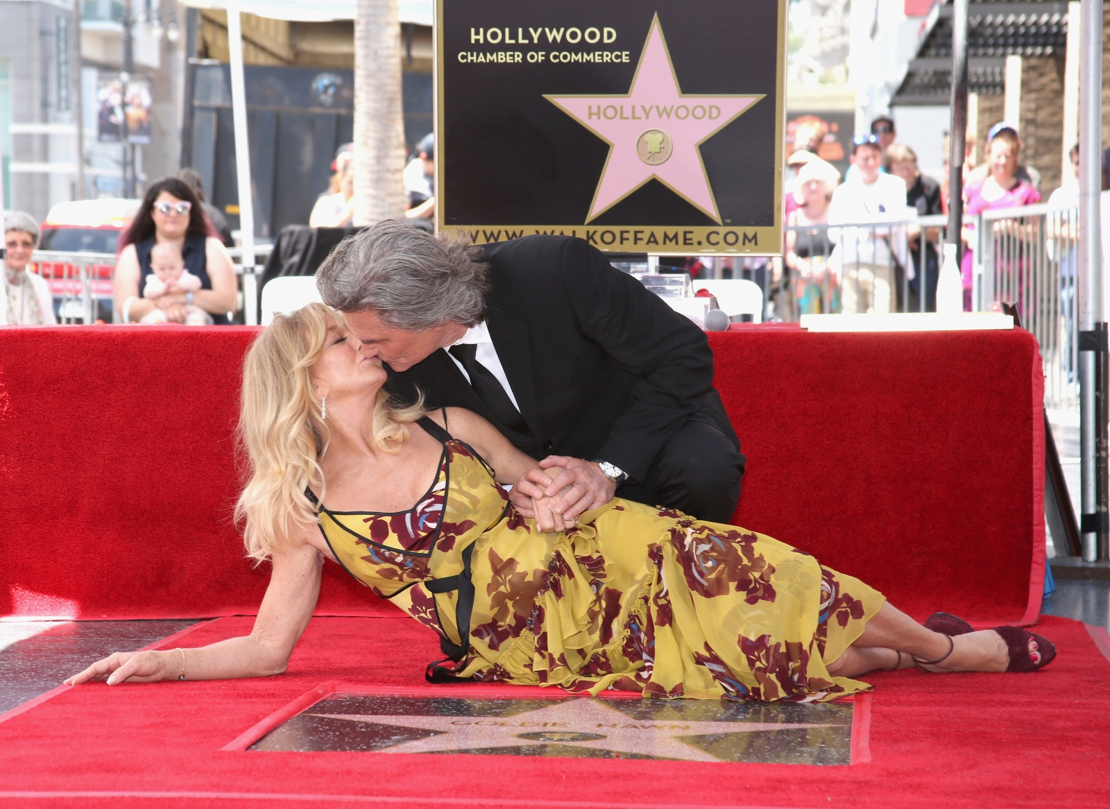 Was Goldie Hawn and Kurt Russell's Walk of Fame ceremony