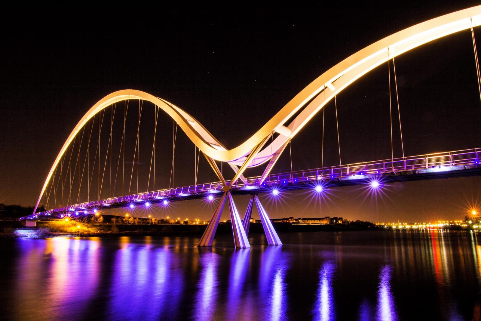 Tees Infinity Bridge