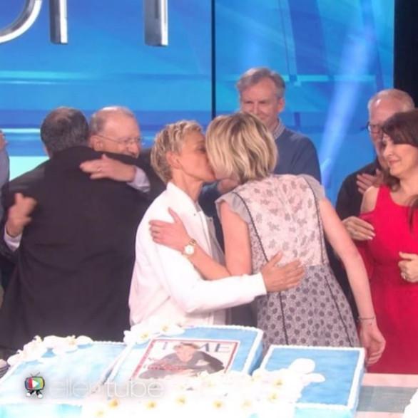 Ellen DeGeneres Portia de Rossi.