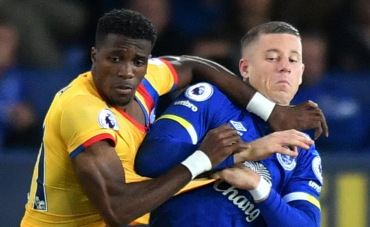 Wilfried Zaha and Ross Barkley