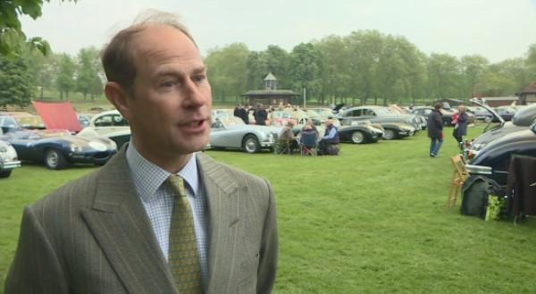Prince Edward talks about the Duke of Edinburgh retiring