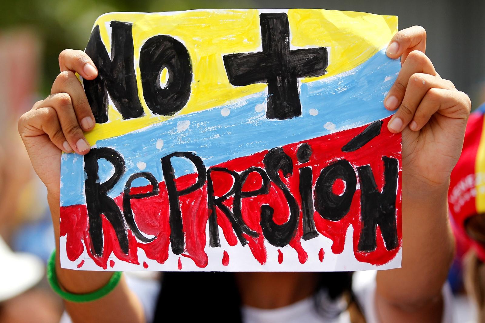Venezuela women protest