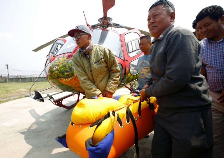 body of Nepali mountain climber Min Bahadur Sherchan