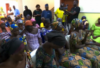 At least 80 girls kidnapped by Boko Haram are released