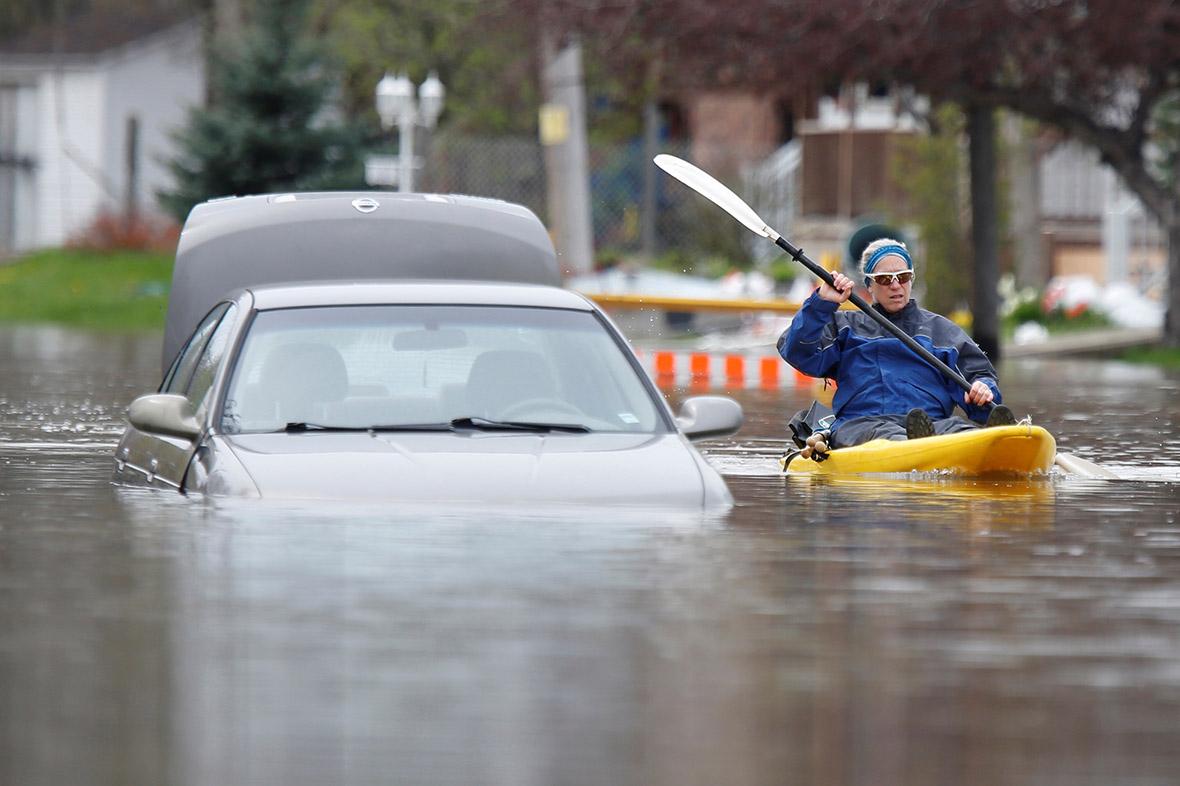 Quebec floods