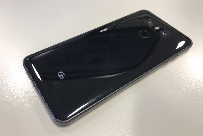 LG G6 dual-lens camera & fingerprint sensor