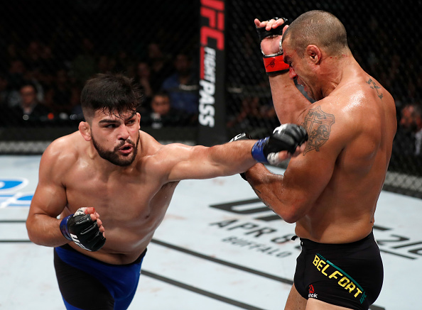 UFC middleweight Kelvin Gastelum suspended for failed drug test