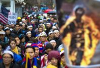 Tibet's self-immolation protests