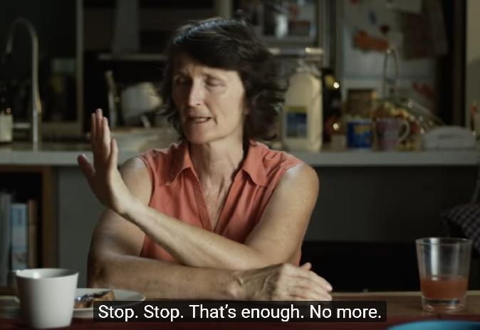 Domestic abuse video