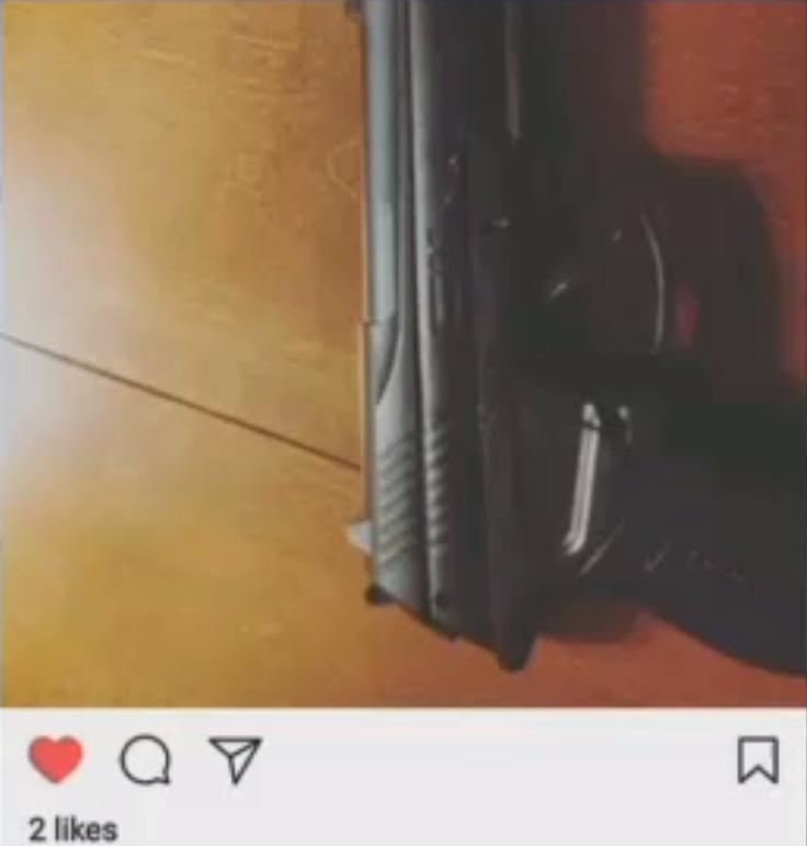 GUN INSTAGRAM SUSPENDED