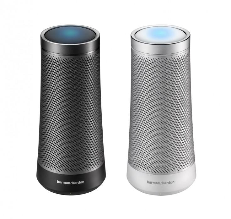 Invoke speakers in black and silver