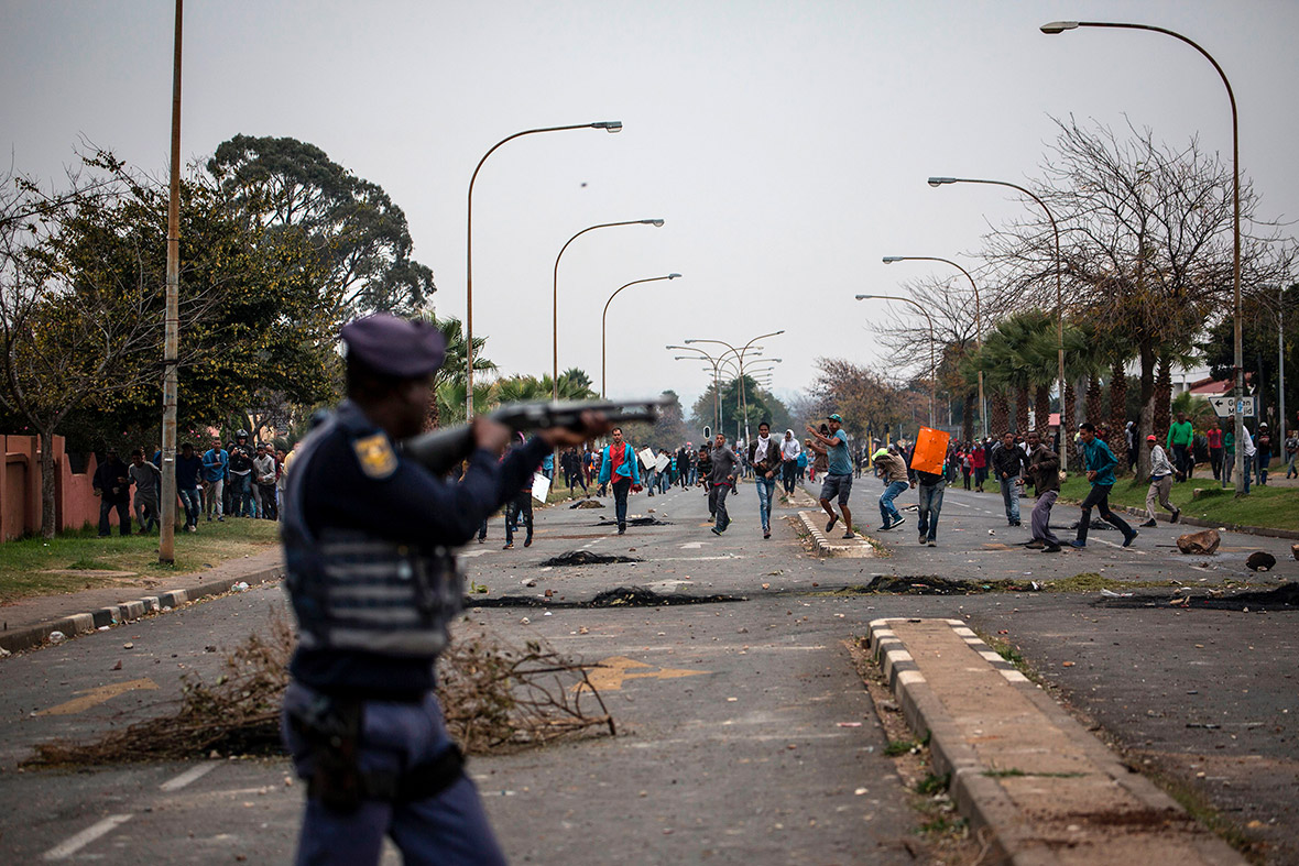 South Africa protests