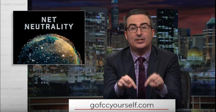 FCC DDoS John Oliver net neutrality