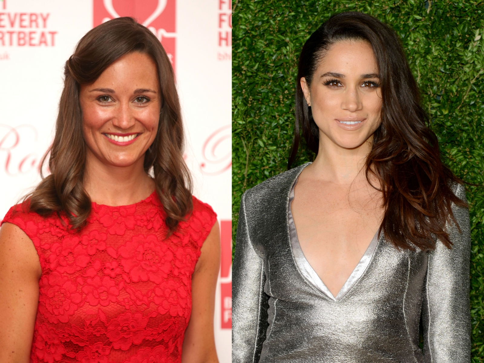 Pippa Middleton and Meghan Markle