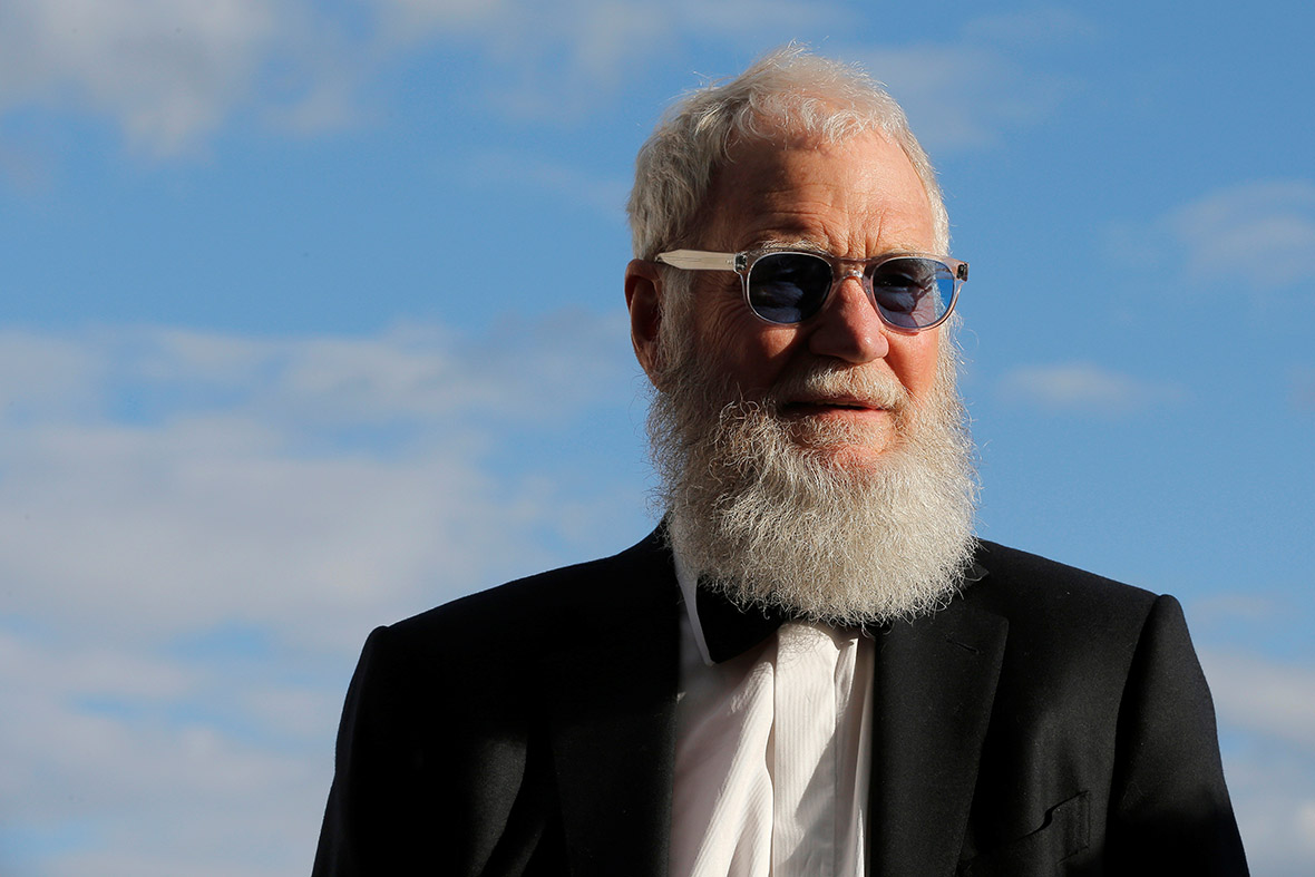 David Letterman set for TV return in Netflix series