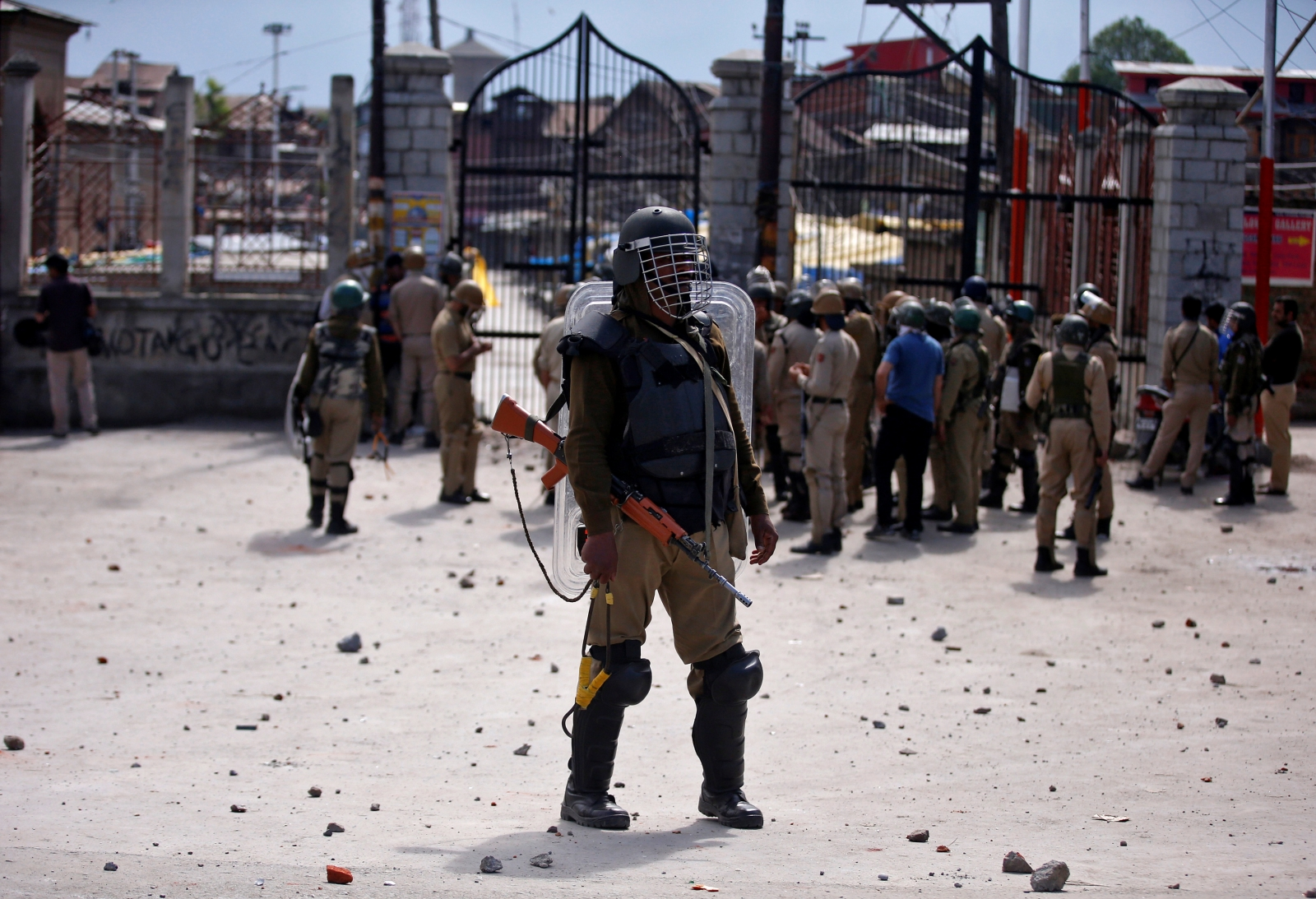 India Kashmir bank robberies
