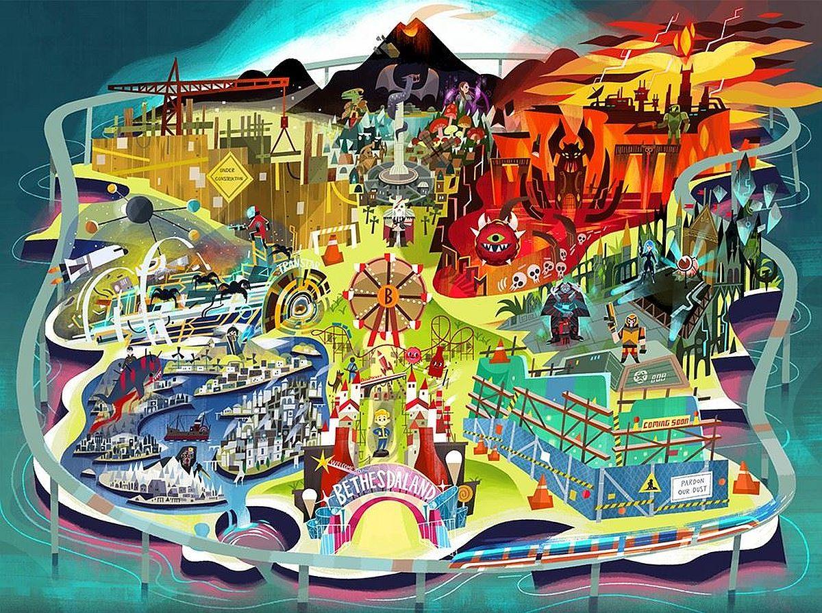 Bethesda E3 Theme Park Teaser