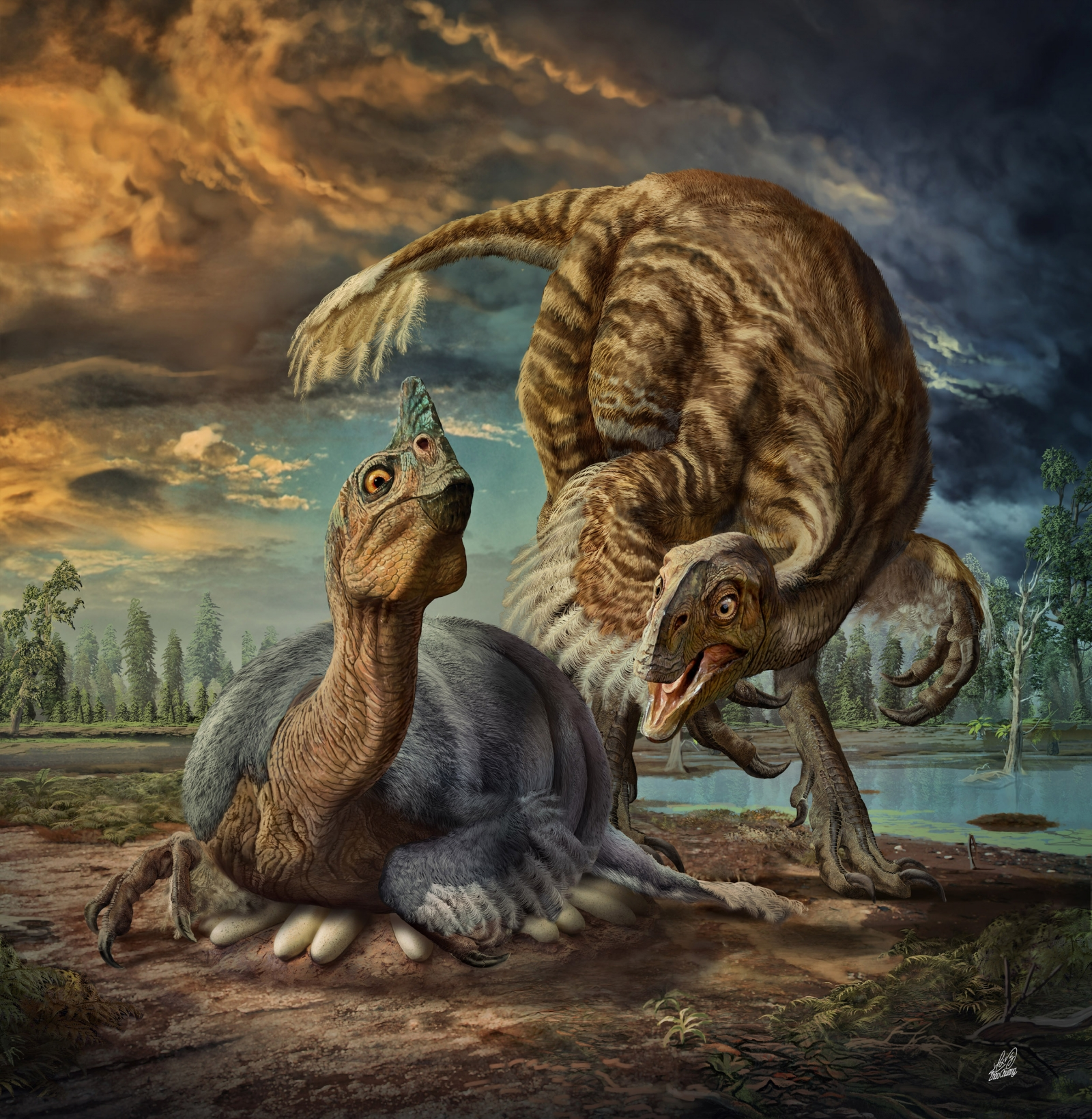 Giant bird-like dinosaur species found in China