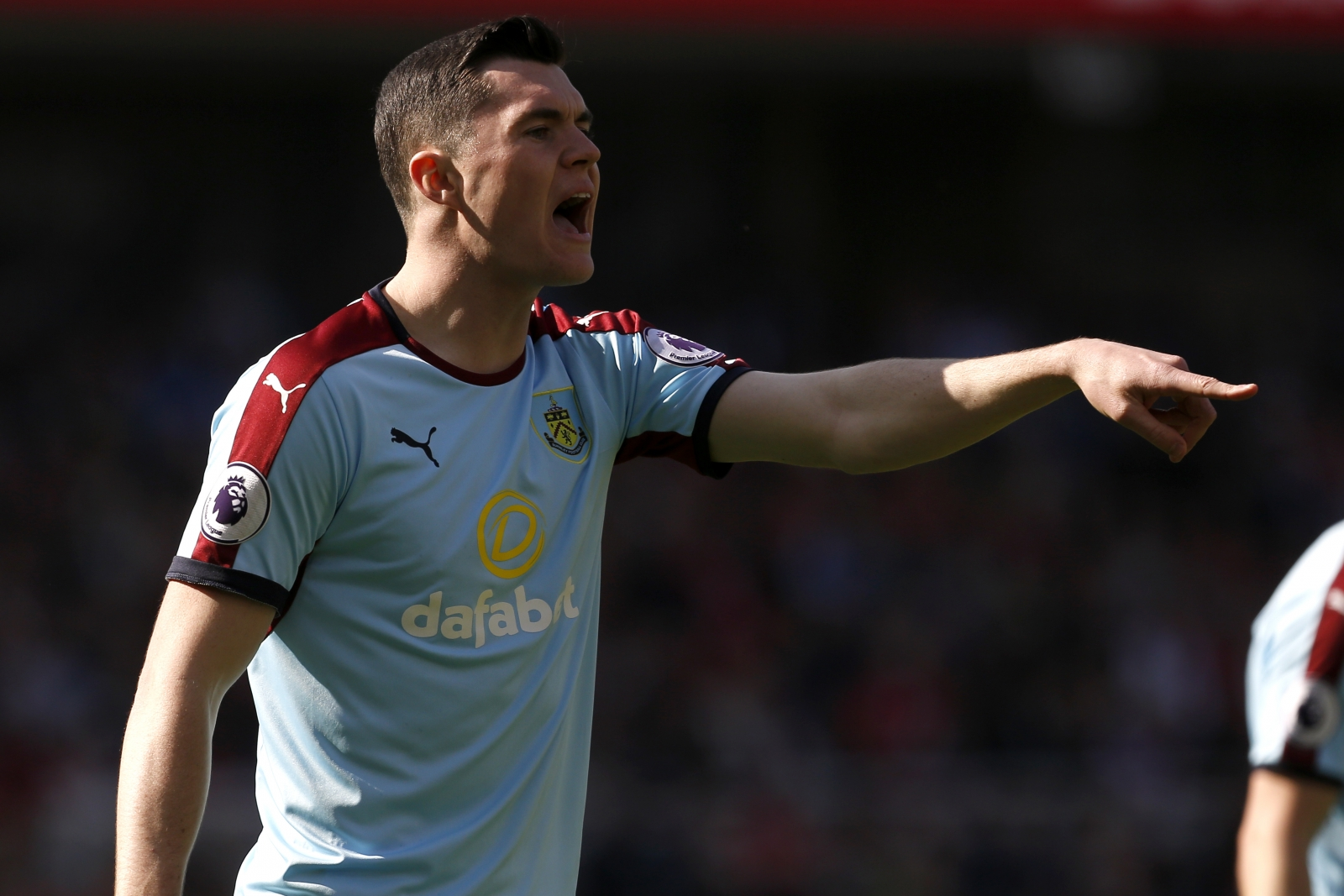 Sean Dyche insists Burnley are under no pressure to sell Michael Keane