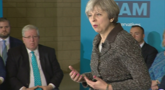 CUTAWAYS OF MAY CAMPAIGN SPEECH