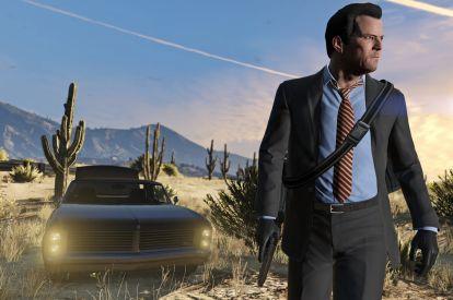 Rockstar GTA 5 Michael