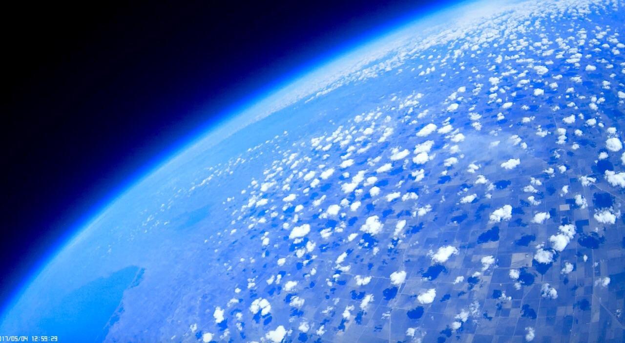 Near space photo