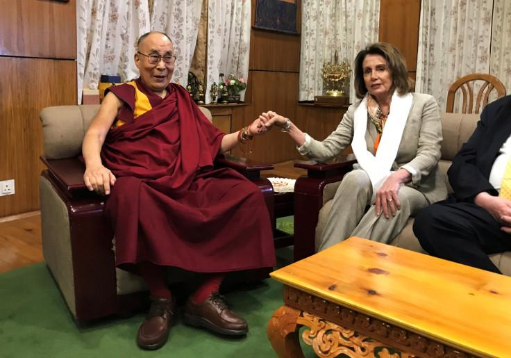 Nancy Pelosi meets Dalai Lama