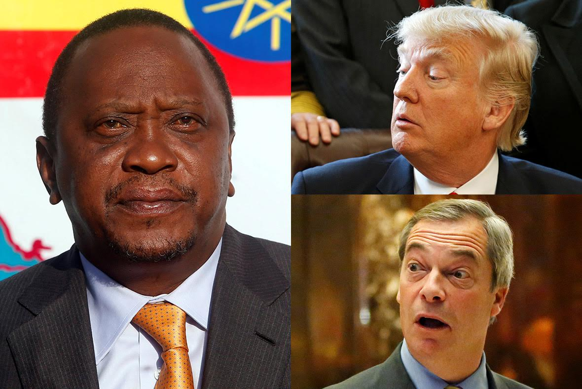 Kenya election campaign