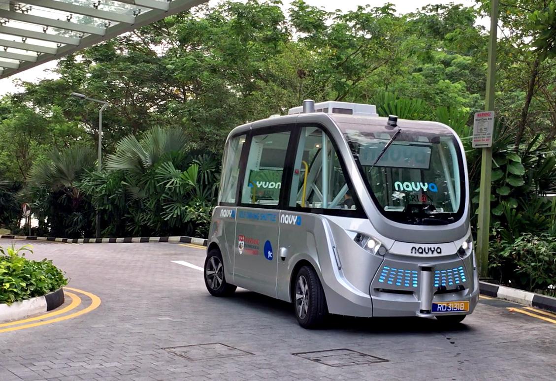 Navya's Arma autonomous shuttle bus