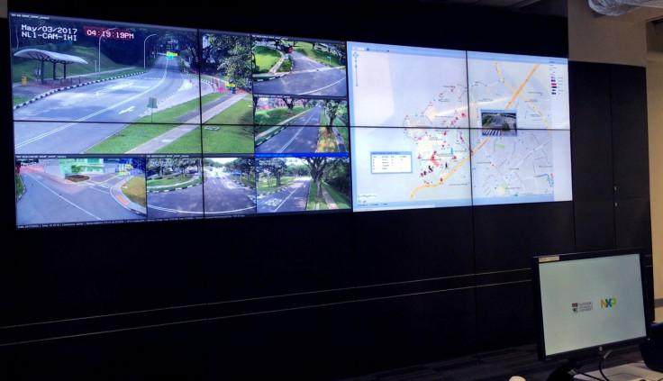 Vehicle2Vehicle communication command centre at NTU