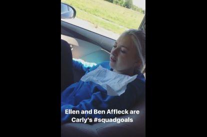 Girl thinks she meets Ben Affleck
