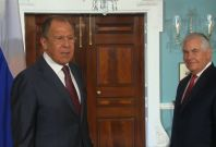 'Was he fired? You're kidding': Russia foreign minister Sergei Lavrov reacts to James Comey sacking