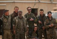 Syrian Democratic Forces SDF fighters