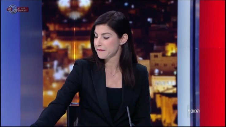 Israel anchor gets emotional on air