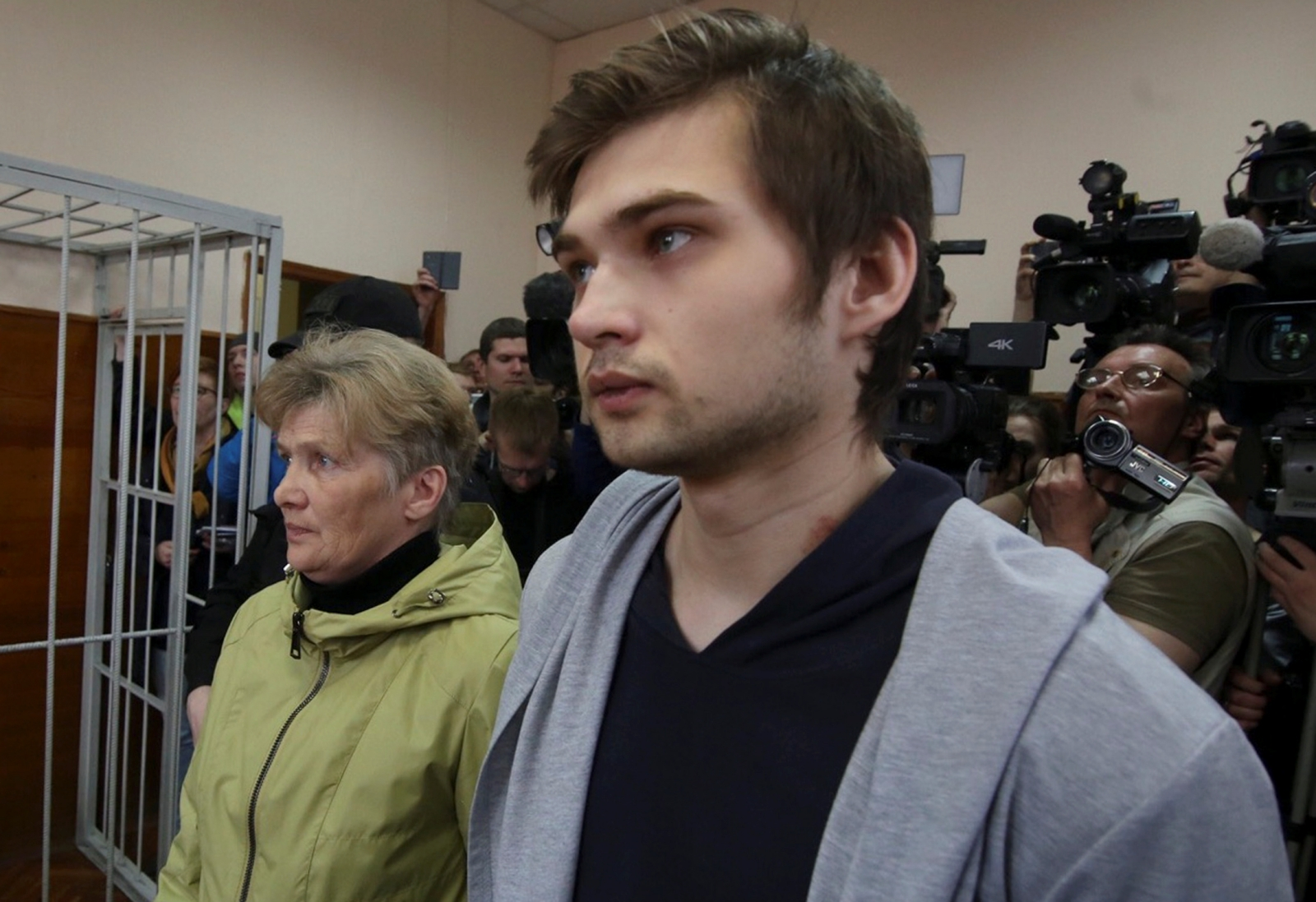 Russian blogger Ruslan Sokolovsky