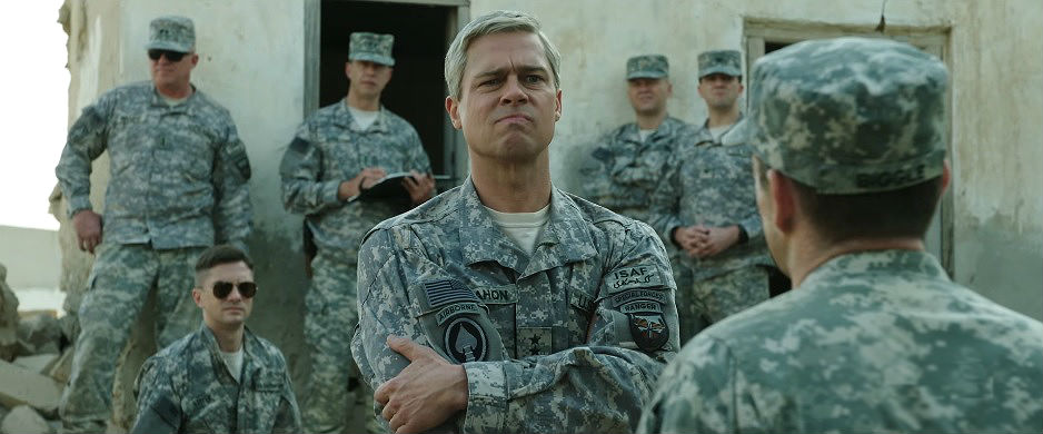 Brad Pitt in War Machine