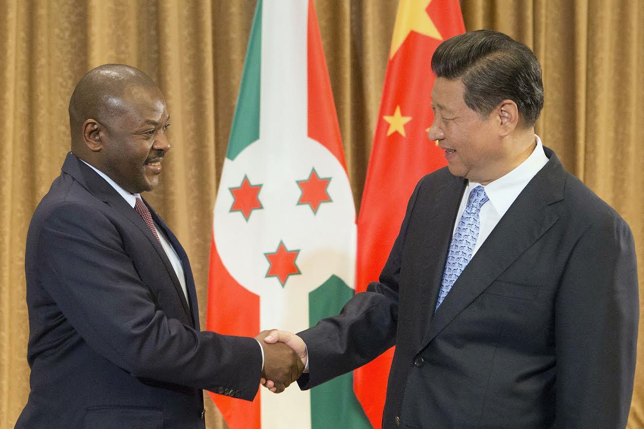 Burundi and China