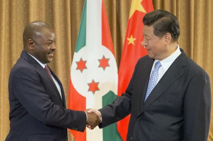 Burundi and China