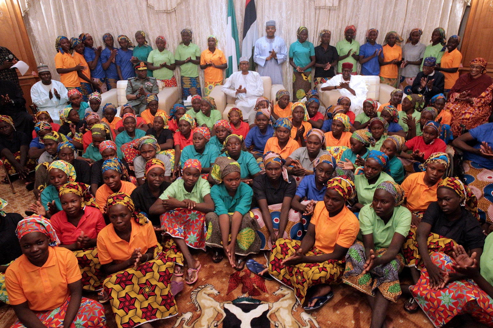 Rescued Chibok schoolgirls