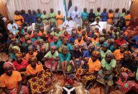 Rescued Chibok schoolgirls