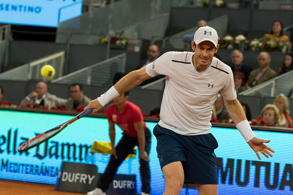 ATP MADRID: Andy Murray exits tournament, stunned by Borna Coric