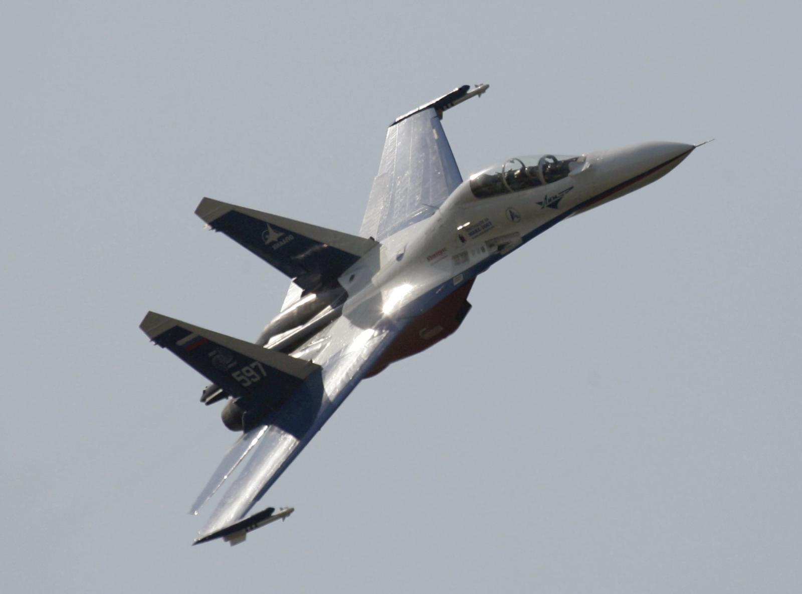 Russia fighter jet interception