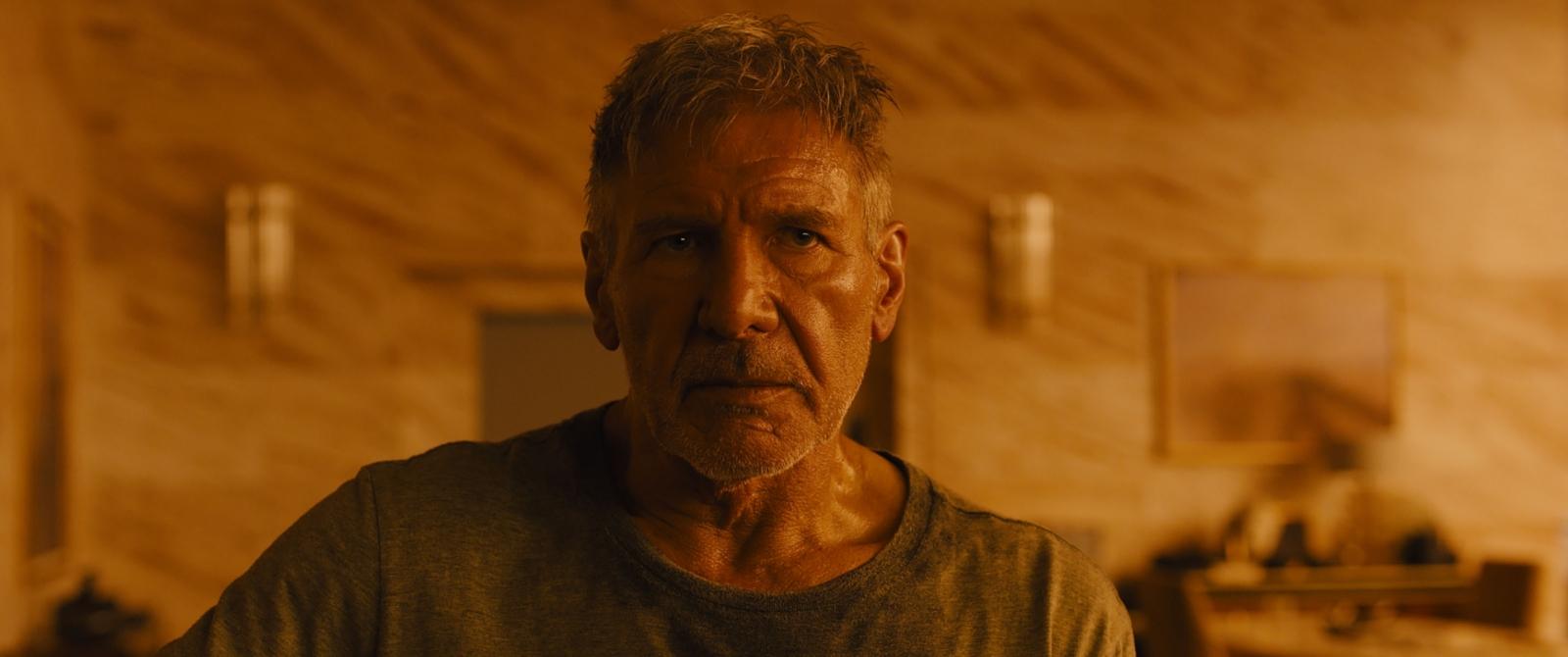 Harrison Ford in Blade Runner 2049
