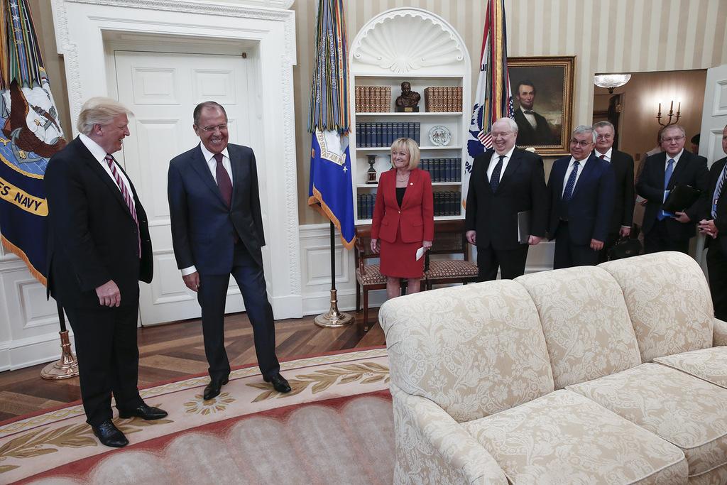 Donald Trump and Sergey Lavro