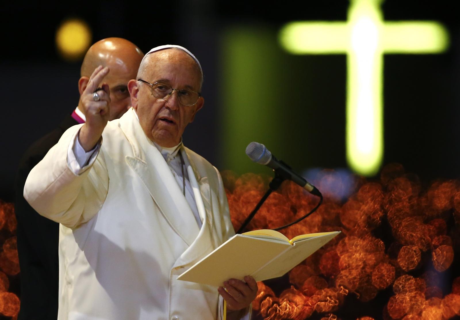 Pope Francis in Fatima