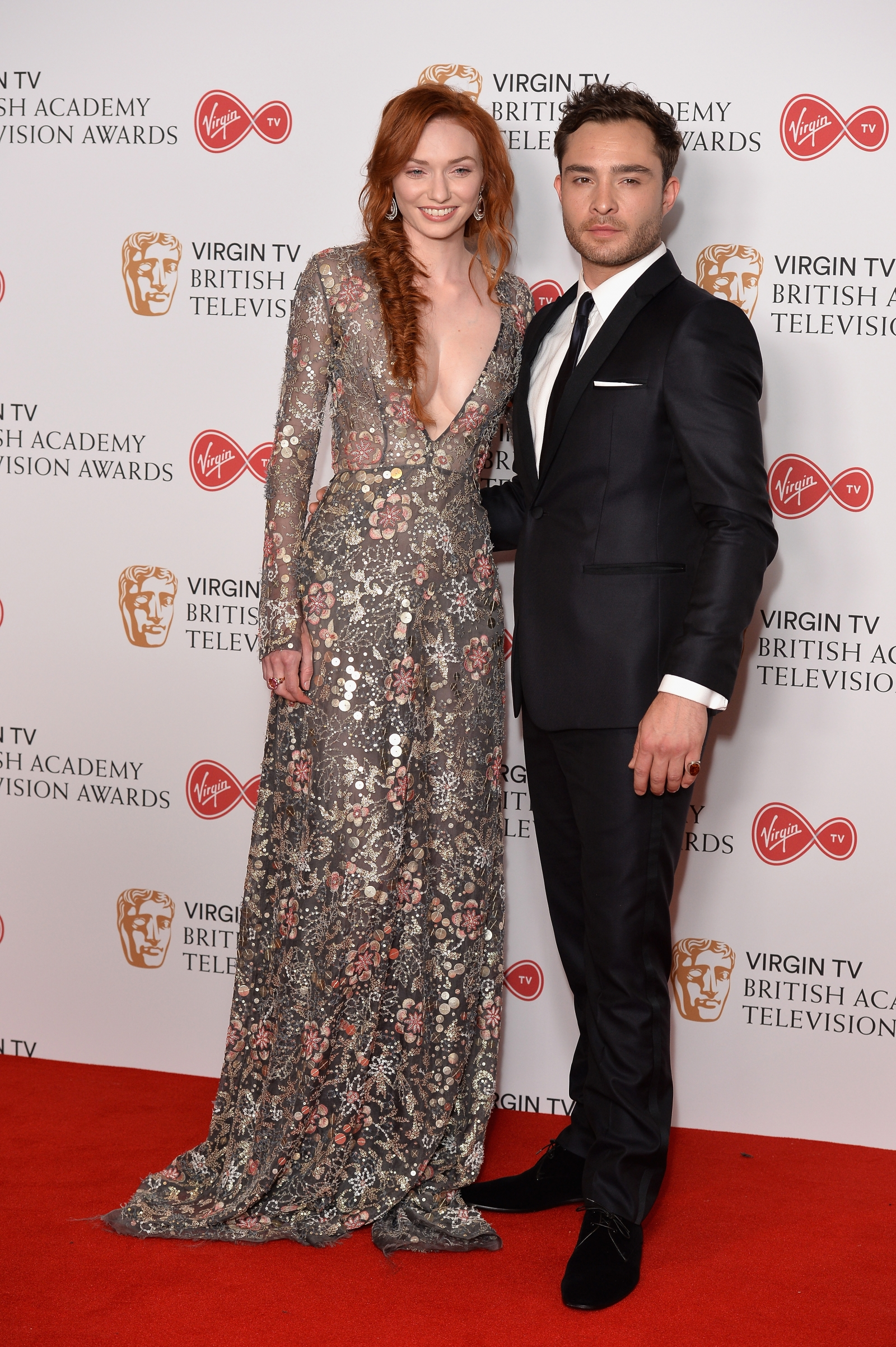 Eleanor Tomlinson and Ed Westwick
