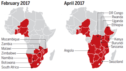 Armyworms in Africa